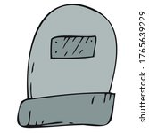 scary  creepy grave in a... | Shutterstock .eps vector #1765639229