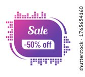 50 percent off sale discount on ...
