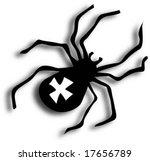 spider   Shutterstock .eps vector #17656789