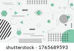geometric  abstract   creative... | Shutterstock .eps vector #1765689593