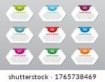 set of infographic element... | Shutterstock .eps vector #1765738469