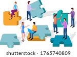 An Isometric Illustration Of...