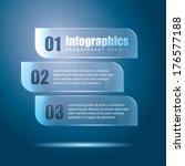 infographics transparent banner | Shutterstock .eps vector #176577188