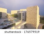 The Getty Center At Sunset ...