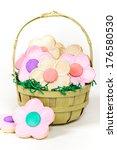 cookie flowers   flower cookie... | Shutterstock . vector #176580530
