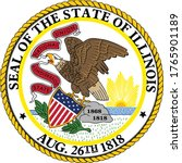 great seal of us federal state... | Shutterstock .eps vector #1765901189