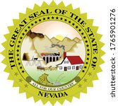 great seal of us federal state... | Shutterstock .eps vector #1765901276