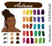 stock vector color guide.... | Shutterstock .eps vector #1765951160