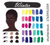 stock vector color guide.... | Shutterstock .eps vector #1765951559