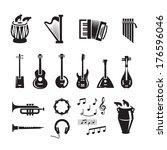 music. vector format | Shutterstock .eps vector #176596046