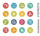 seo and digital martketing... | Shutterstock .eps vector #1765982570