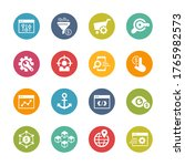 seo and digital martketing...   Shutterstock .eps vector #1765982573
