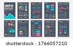 infographic brochures data...
