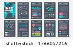 infographic brochures data...
