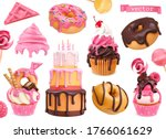 Sweets 3d Vector Realistic...