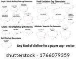 any kind of dieline   diecut... | Shutterstock .eps vector #1766079359
