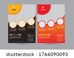 geometric restaurant cafe menu  ... | Shutterstock .eps vector #1766090093
