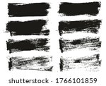 flat paint brush thin short...   Shutterstock .eps vector #1766101859
