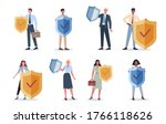 business people wearing formal...   Shutterstock .eps vector #1766118626