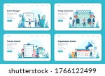 event manager or service web...   Shutterstock .eps vector #1766122499