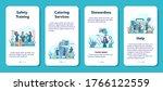 stewardess mobile application...   Shutterstock .eps vector #1766122559