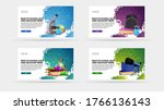 back to school sale and... | Shutterstock .eps vector #1766136143
