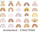 vector hand drawn collection... | Shutterstock .eps vector #1766175560