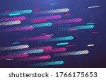 motion colorful diagonal arrows ...   Shutterstock .eps vector #1766175653