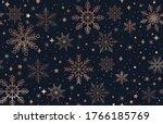 elegant christmas seamless... | Shutterstock .eps vector #1766185769