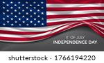 usa independence day greeting...   Shutterstock .eps vector #1766194220