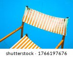 Colorful Old Striped Orange And ...