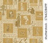 Ancient Egypt. Seamless Pattern....