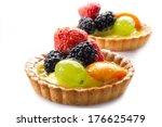 fruits dessert | Shutterstock . vector #176625479