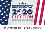 election day. vote 2020 in usa  ... | Shutterstock .eps vector #1766345909