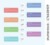 minimal infographic template...