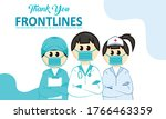 frontline heroes  illustration...   Shutterstock .eps vector #1766463359