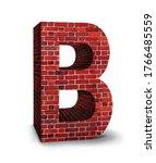 Alphabet Letter B Of The...