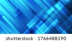 abstract blue stripes... | Shutterstock .eps vector #1766488190