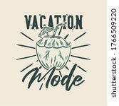 vintage slogan typography...   Shutterstock .eps vector #1766509220