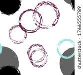 Colorful Polka Dots. Pastel...