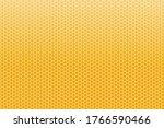honeycombs orange seamless...   Shutterstock .eps vector #1766590466