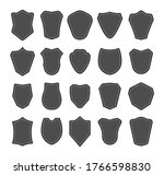 shield blank emblems. security... | Shutterstock .eps vector #1766598830