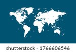 world map color vector modern   Shutterstock .eps vector #1766606546