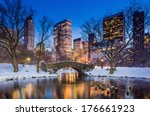 gapstow bridge in winter ... | Shutterstock . vector #176661923
