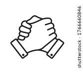 Soul Brother Handshake Icon ...