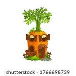 Cartoon Carrot Gnome House....
