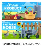 farm products and natural...   Shutterstock .eps vector #1766698790