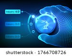 Smart Industry 4.0 Concept....