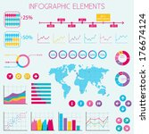flat design infographic...   Shutterstock .eps vector #176674124