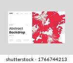 abstract homepage illustration. ... | Shutterstock .eps vector #1766744213